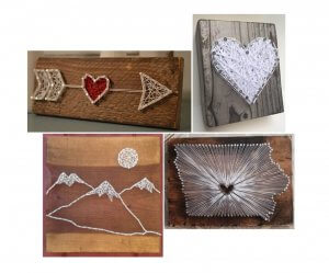 Krafting with Kylie: String Art