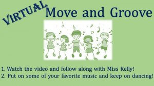 Virtual Move and Groove Mondays