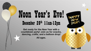 Noon Year's Eve!