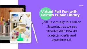 Virtual Fall Fun with Grimes Public Library